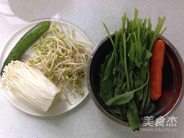 石锅拌饭的家常做法
