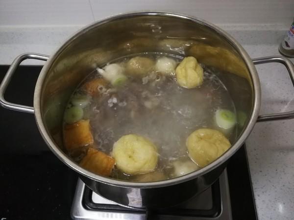羊肉丸子粉丝汤怎么吃