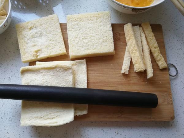 豆沙吐司卷的做法图解