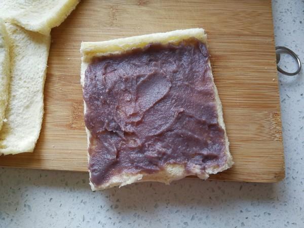 豆沙吐司卷的家常做法