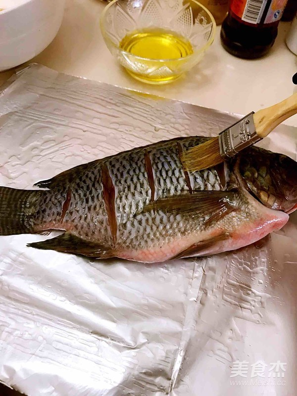烤鱼的做法图解