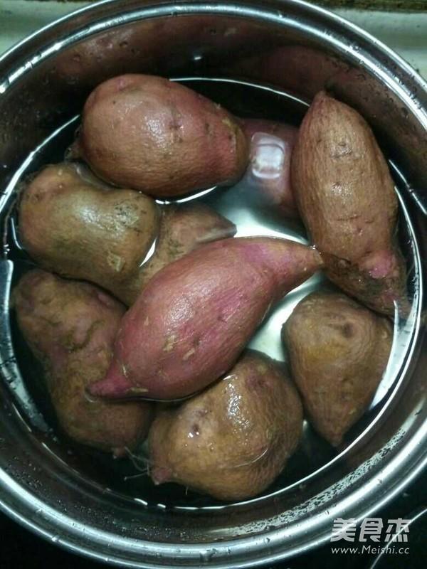 红薯丸子的做法大全
