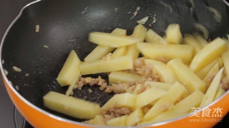 惹味肉末炒土豆条怎么吃
