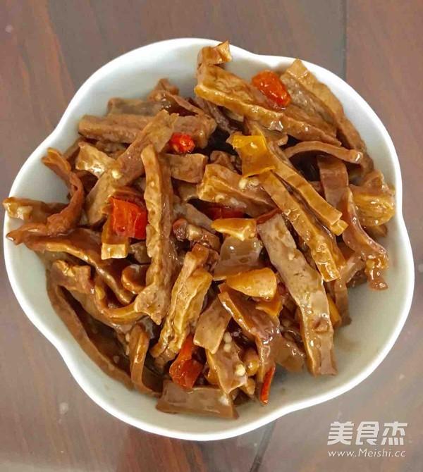 香辣豆腐干怎么吃