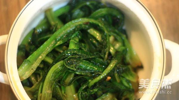 蒜蓉油麦菜怎么吃