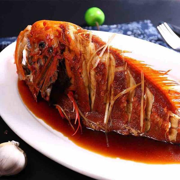 清蒸长寿鱼成品图