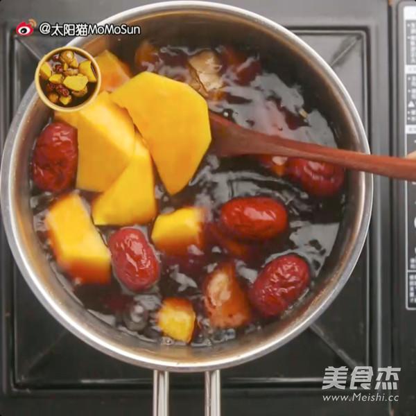 古早味番薯栗子姜汤的简单做法