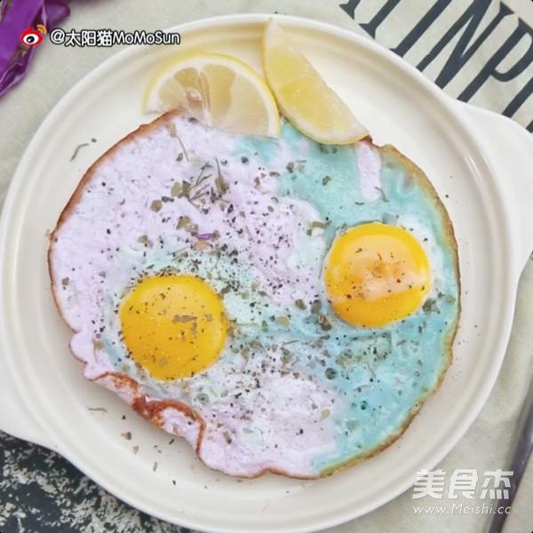 变色鸡蛋 | 太阳猫早餐怎么做