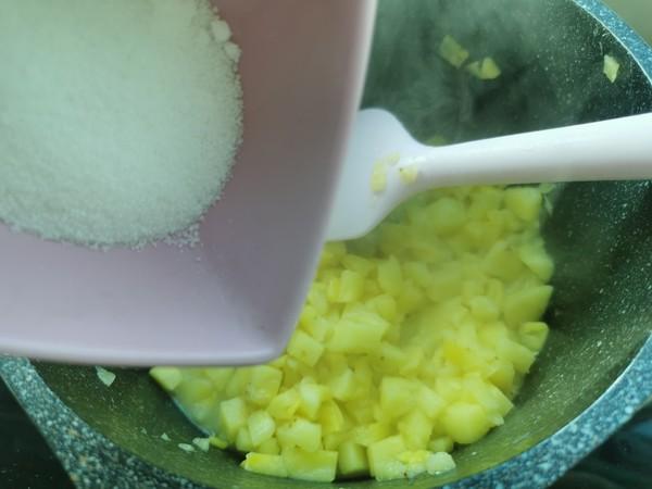 菠萝派 (简易手抓饼版)的简单做法