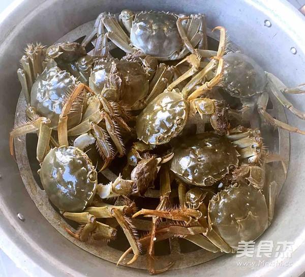 清蒸河蟹的做法大全