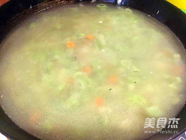 老味疙瘩汤怎么煮