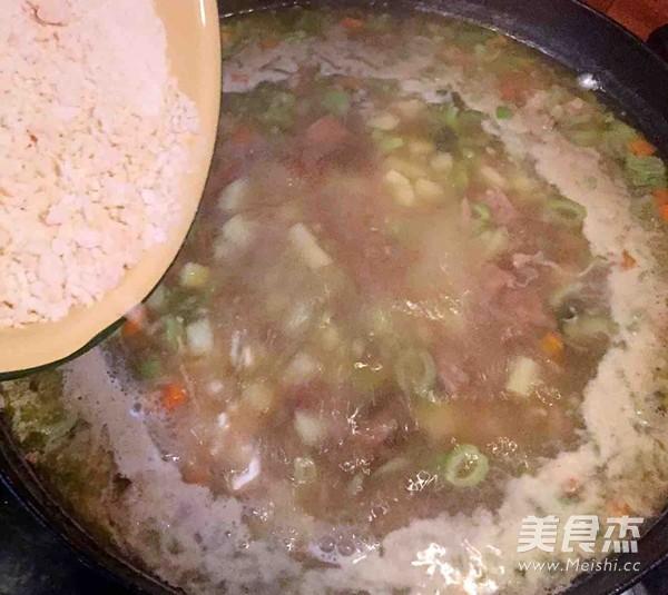 老味疙瘩汤怎样做