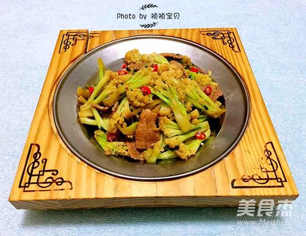 干锅有机花菜怎么煸