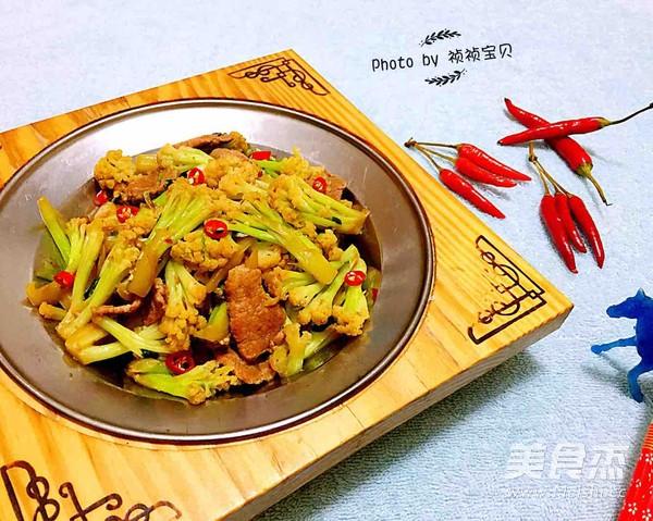 干锅有机花菜怎样煸