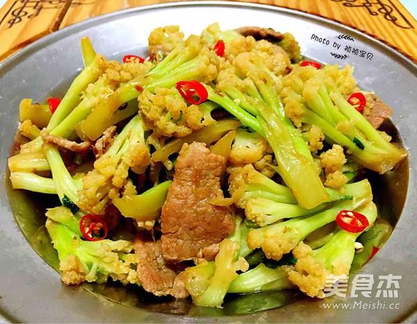 干锅有机花菜怎样做