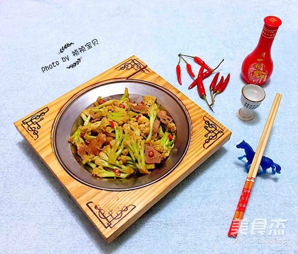 干锅有机花菜怎样煮