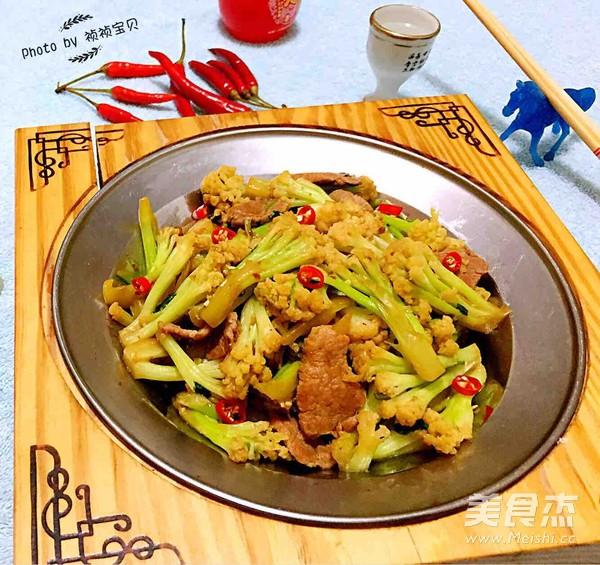 干锅有机花菜怎样炒