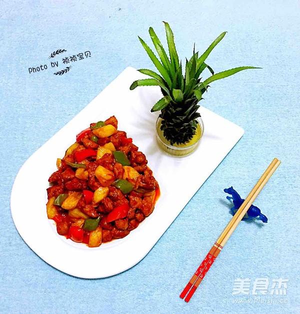 经典菠萝咕咾肉的制作方法