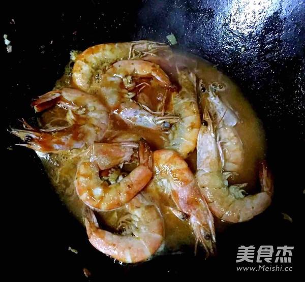 番茄㸆海虾的简单做法