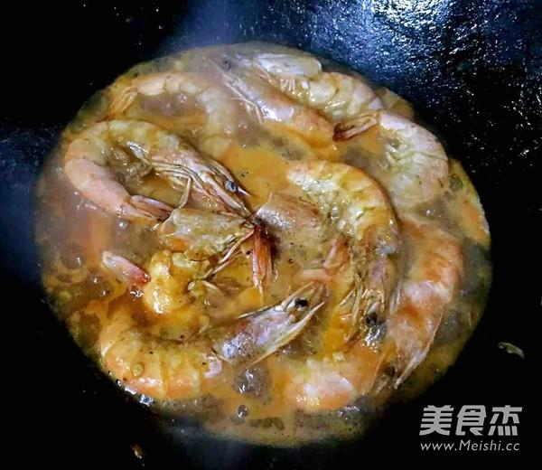 番茄㸆海虾怎么吃