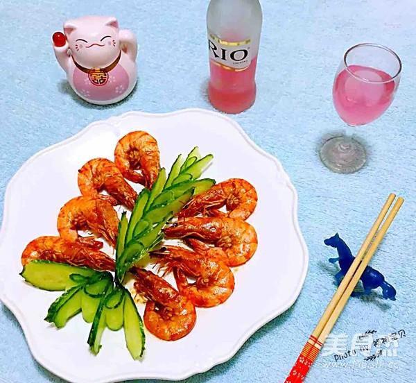 番茄㸆海虾怎样做