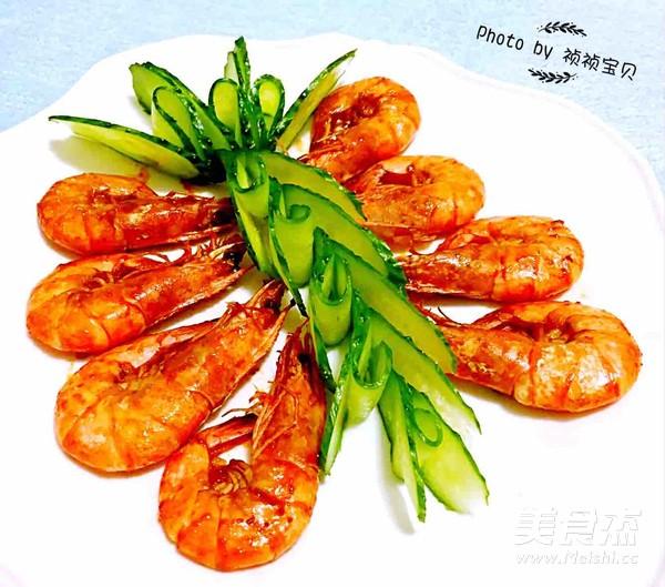 番茄㸆海虾怎样炒