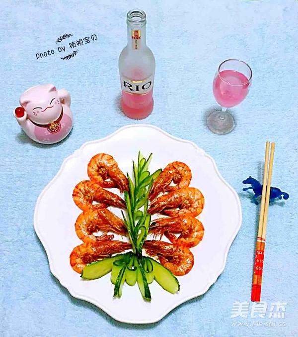 番茄㸆海虾怎样煮
