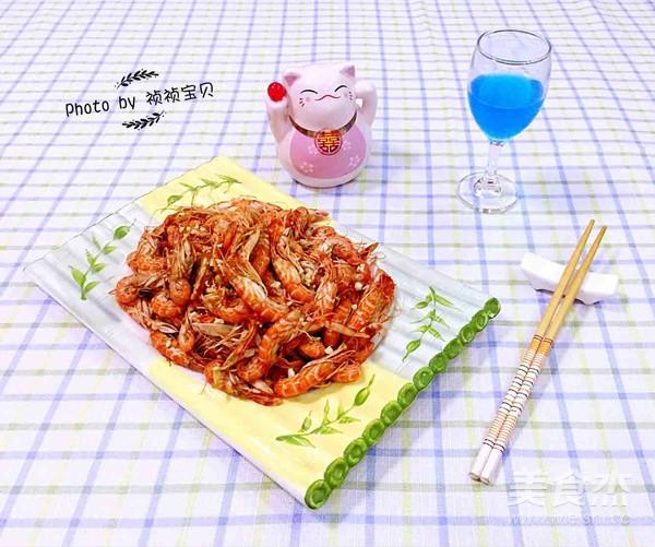 蒜蓉辣酱爆嘎嘣虾怎样炒