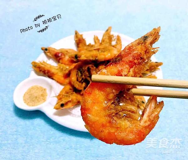 酥炸海虾怎么炒