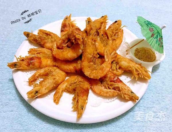 酥炸海虾怎么煮