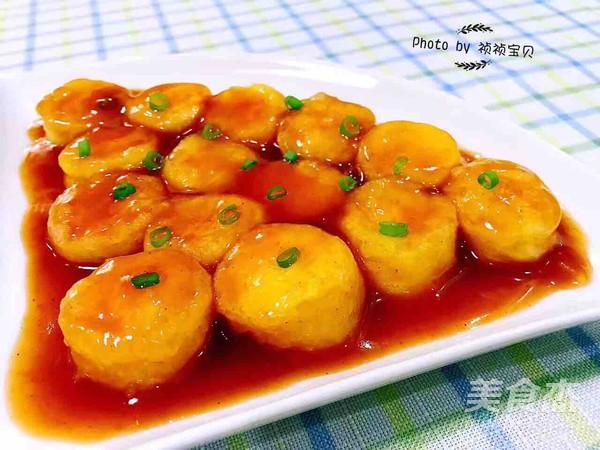 茄汁日本豆腐怎么煮