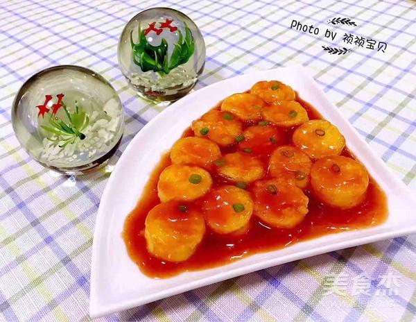 茄汁日本豆腐怎么炖