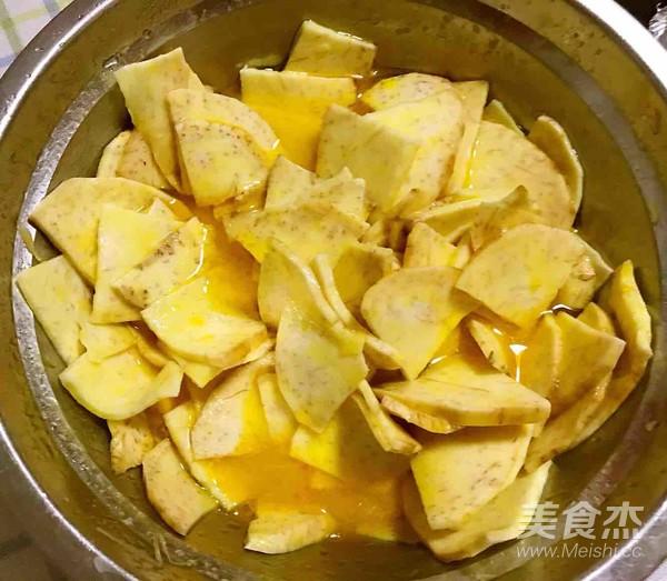 自制烤山芋片怎么吃