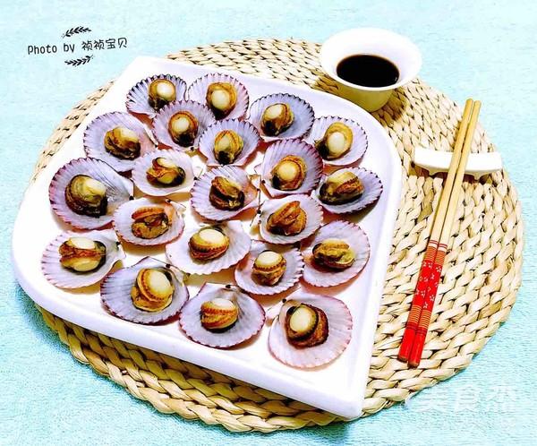 干锅蒸扇贝怎样做