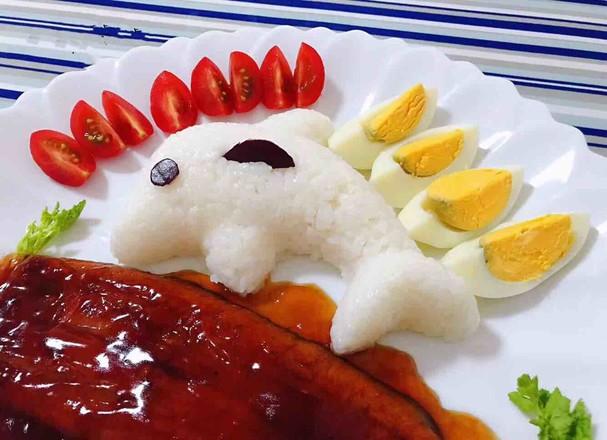 鳗鱼海豚饭怎么吃