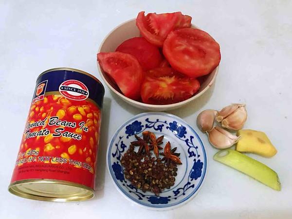 番茄黄豆炖牛腩怎么吃