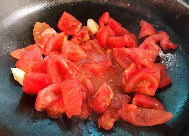 番茄黄豆炖牛腩怎么炒