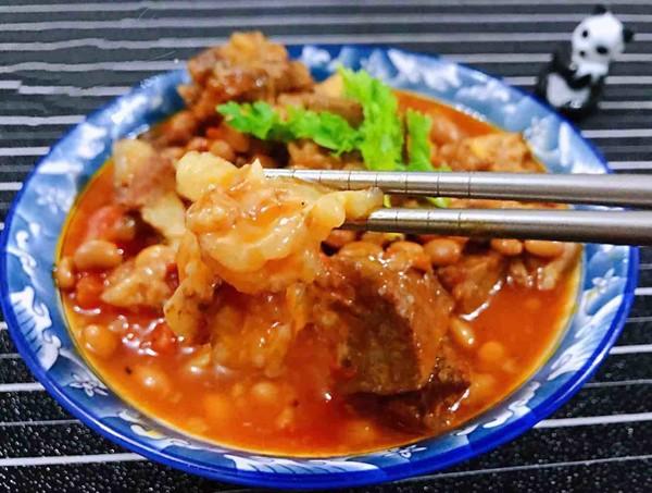 番茄黄豆炖牛腩怎样煮