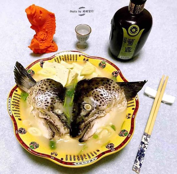 三文鱼头炖豆腐怎样炒