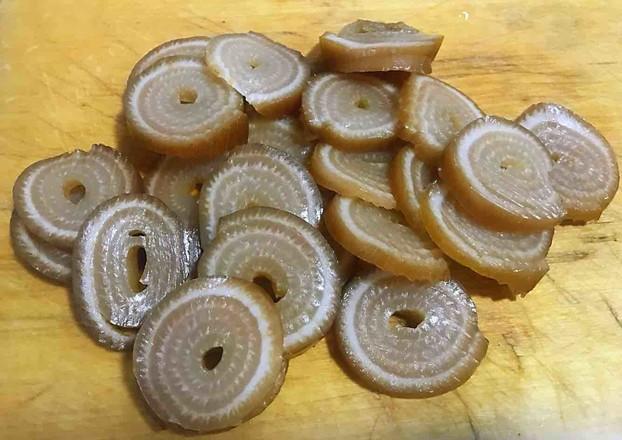 卤金钱猪皮卷怎么炒