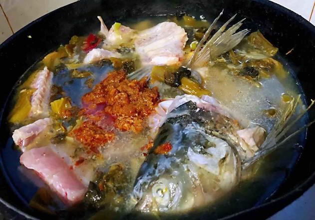 酸菜鱼片汤怎样炒