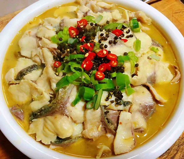 酸菜鱼片汤的制作大全