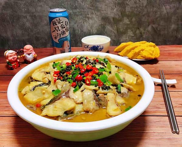 酸菜鱼片汤的做法大全