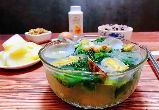 小白菜蚬子汤怎样做