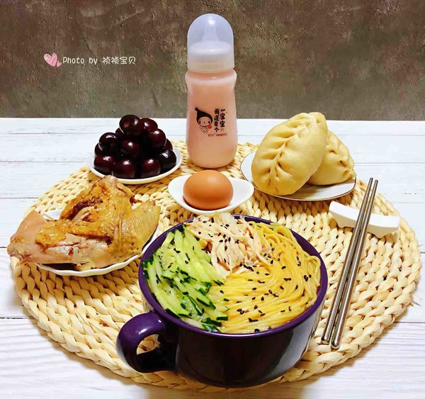 鸡丝青瓜凉面怎样煮