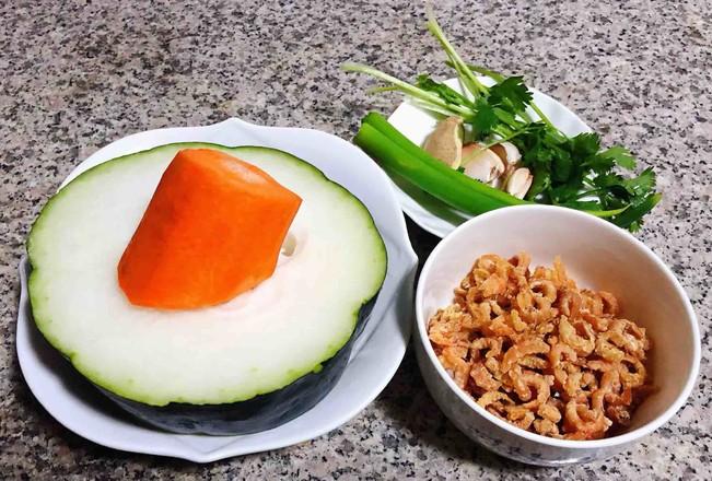 冬瓜虾米汤的做法大全