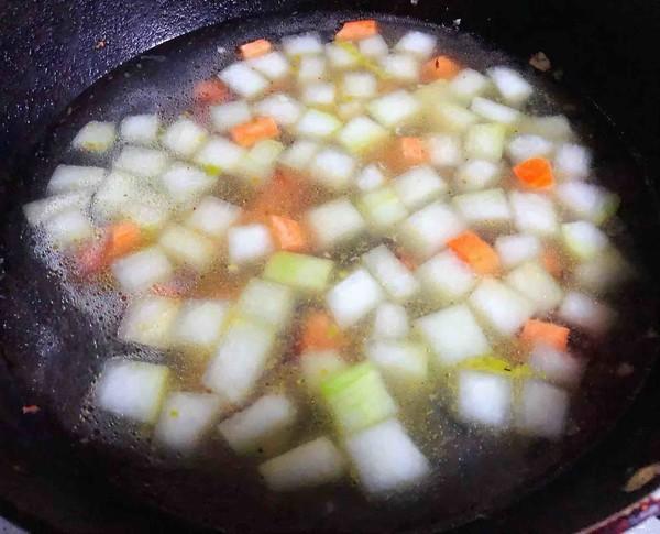冬瓜虾米汤怎么炒