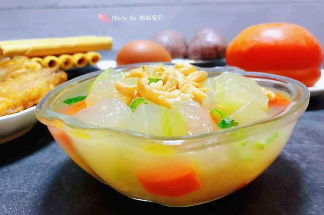 冬瓜虾米汤怎样煸