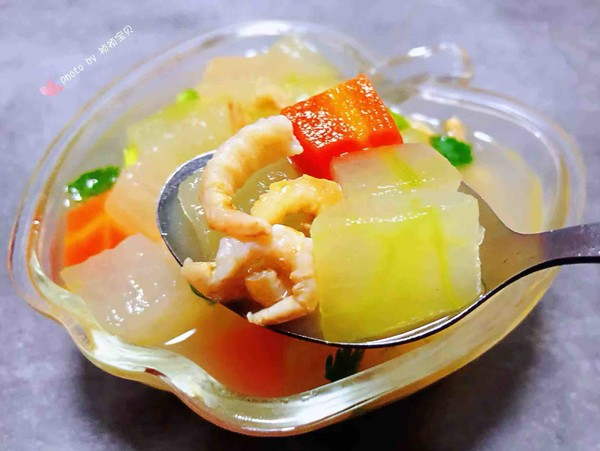 冬瓜虾米汤怎样炒