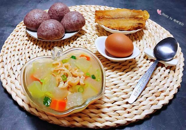 冬瓜虾米汤怎样做
